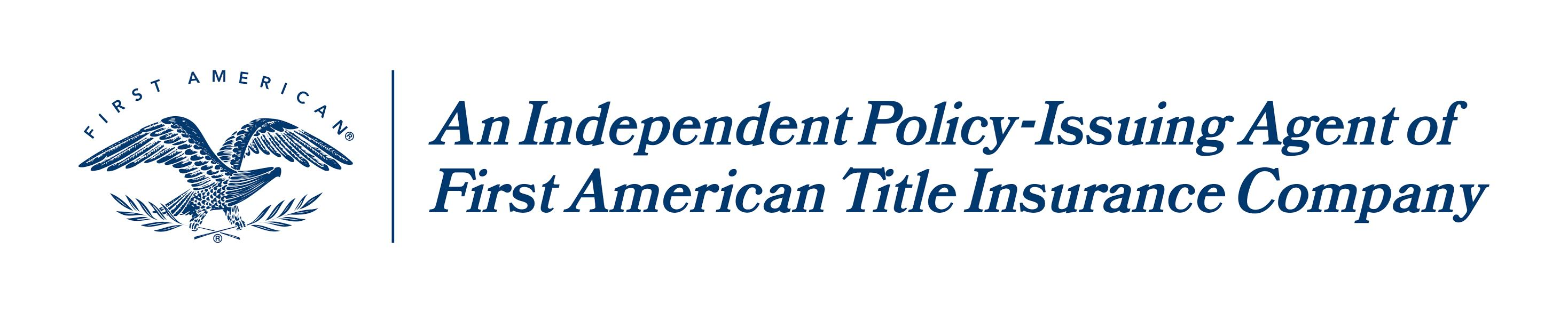 First American Title Co. logo